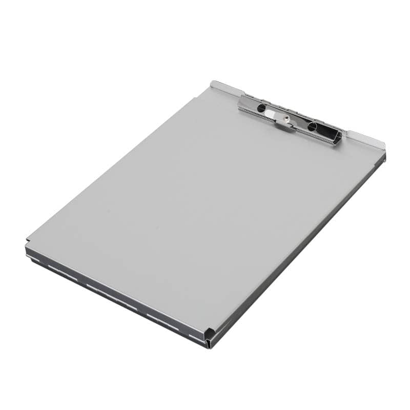 ALUMINUM CLIPBOARD BOX WITH TRAY L