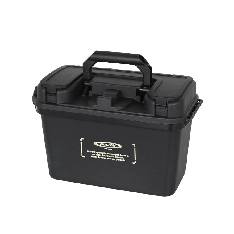 PORTABLE STORAGE BOX BLACK