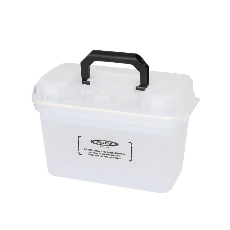 PORTABLE STORAGE BOX CLEAR