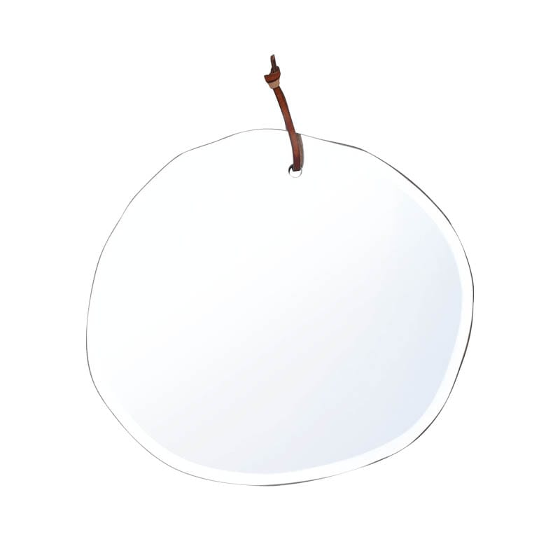 WALL HANGING MIRROR CLOUD OVAL