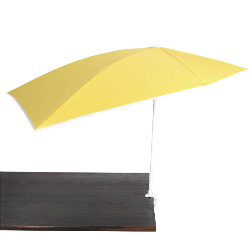 CLAMP BEACH UMBRELLA YELLOW