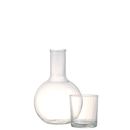 BALL CARAFE w/CUP 1L