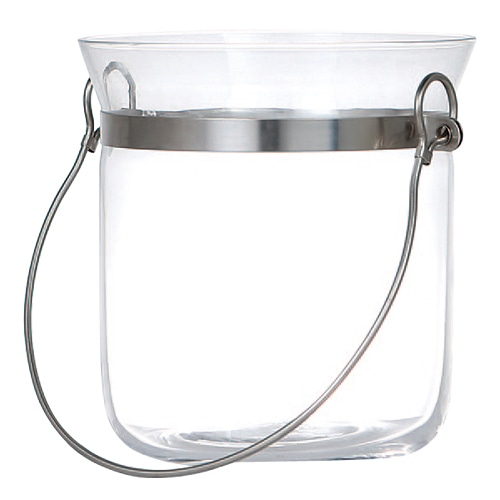 GLASS ICE BUCKET L