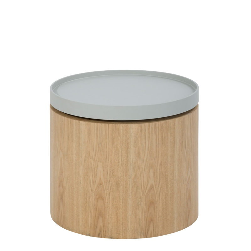 END TABLE LIGHT GRAY