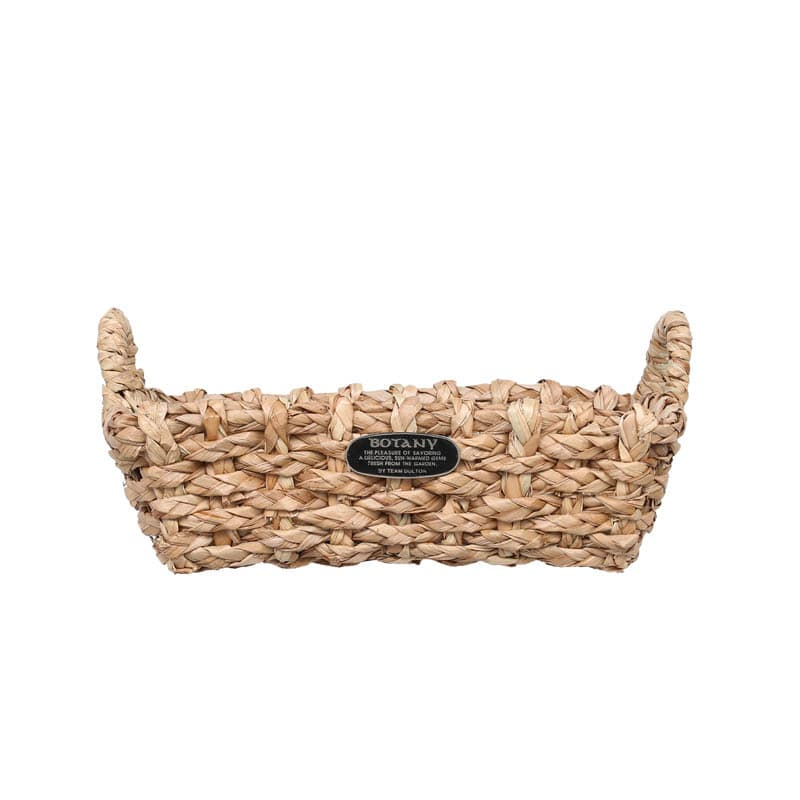 SHALLOW BRAIDS BASKET M