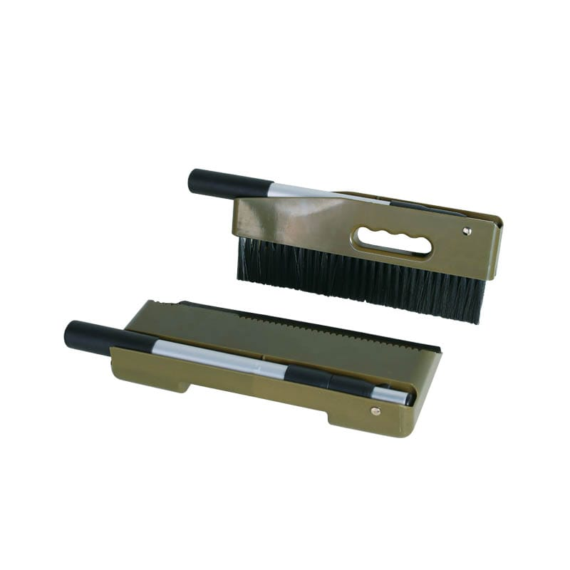 HANDY DUSTPAN BRUSH OLIVE