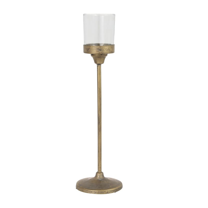 IRON CANDLE STAND L