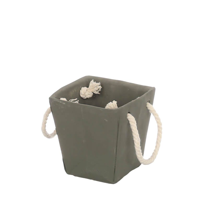 CEMENT BAG POT IVY GRAY S