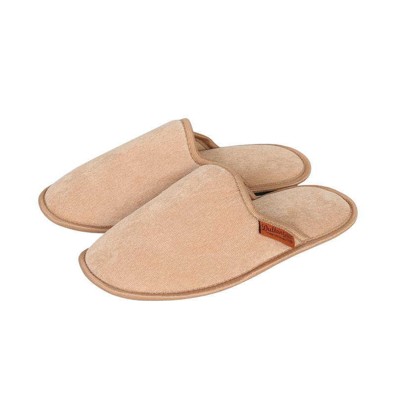 CORDUROY SLIPPERS MEN_MUSTARD
