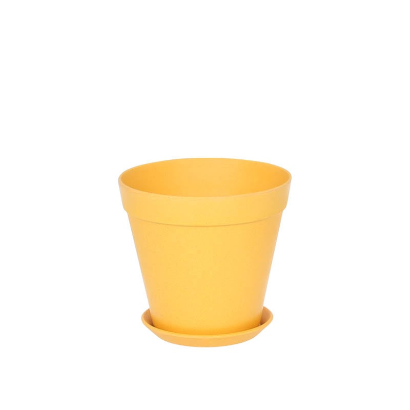''BOTANY'' POT150_B.YELLOW 3PCS SET