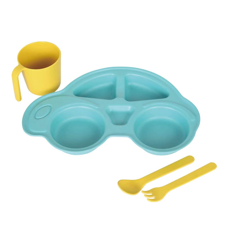 M&B KIDS PLATE SET ''CAR''