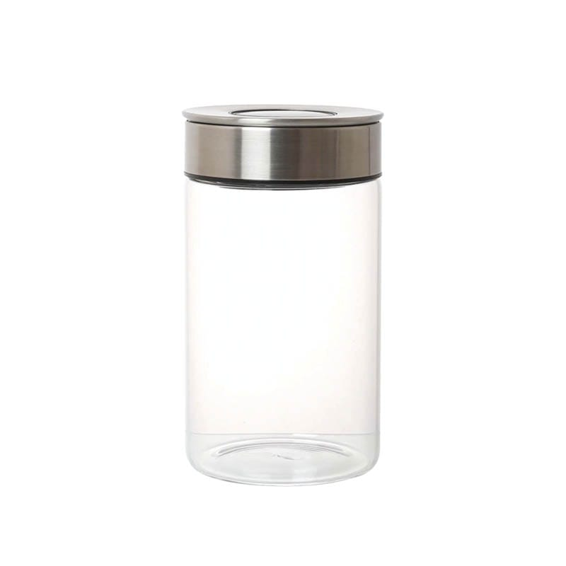 CYLINDER JAR WITH PRESS LID M