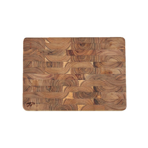 ACACIA CUTTING BOARD   END GRAIN