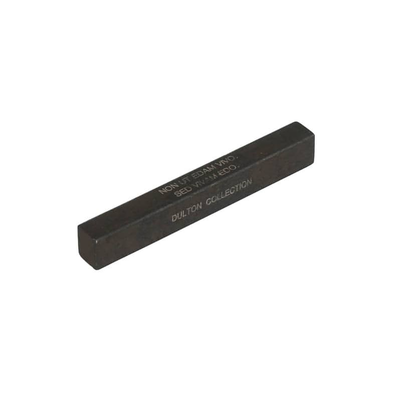 CUTLERY REST SQUARE BLACK