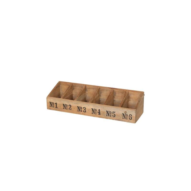 WOODEN BOX 6 SEC