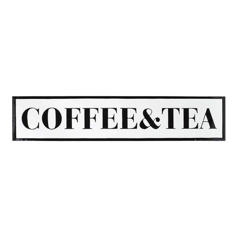 """SIGNBOARD L """"COFFEE&TEA"""""""
