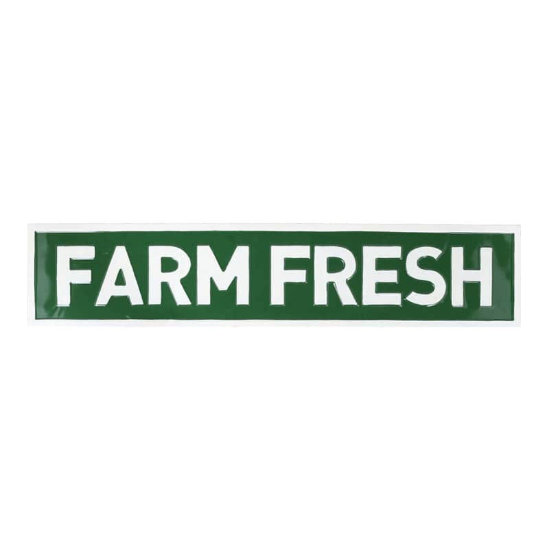 "SIGNBOARD L ""FARM FRESH"""