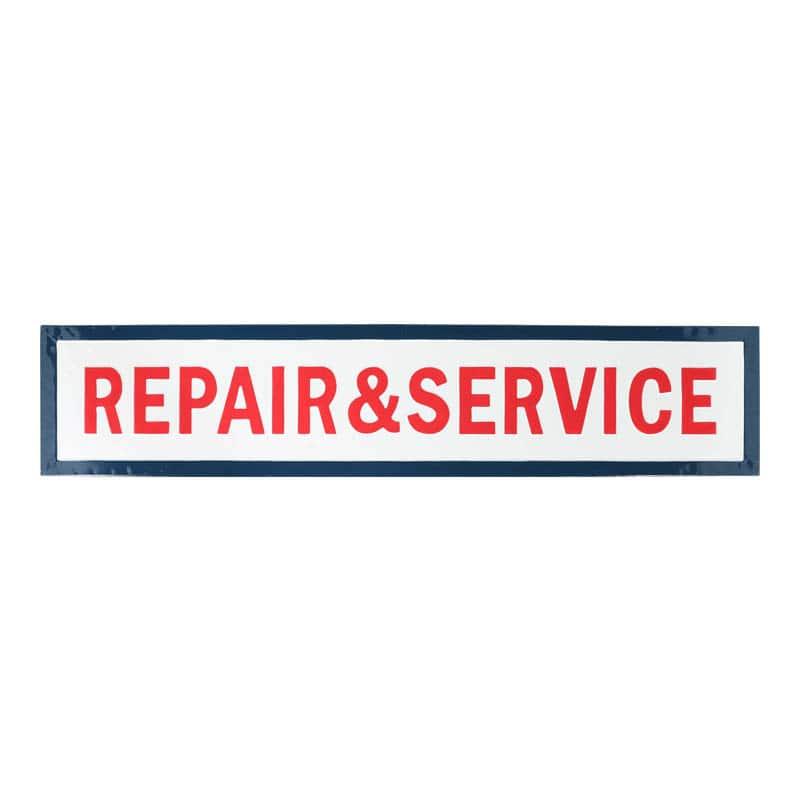 "SIGNBOARD L ""REPAIR&SERVICE"""