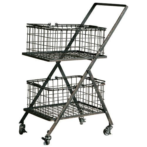 DUAL BASKET CART