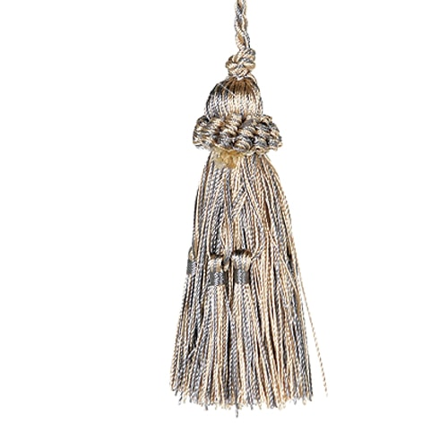TASSEL  GOLD/GRAY