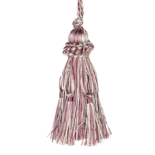 TASSEL  PURPLE/BEIGE