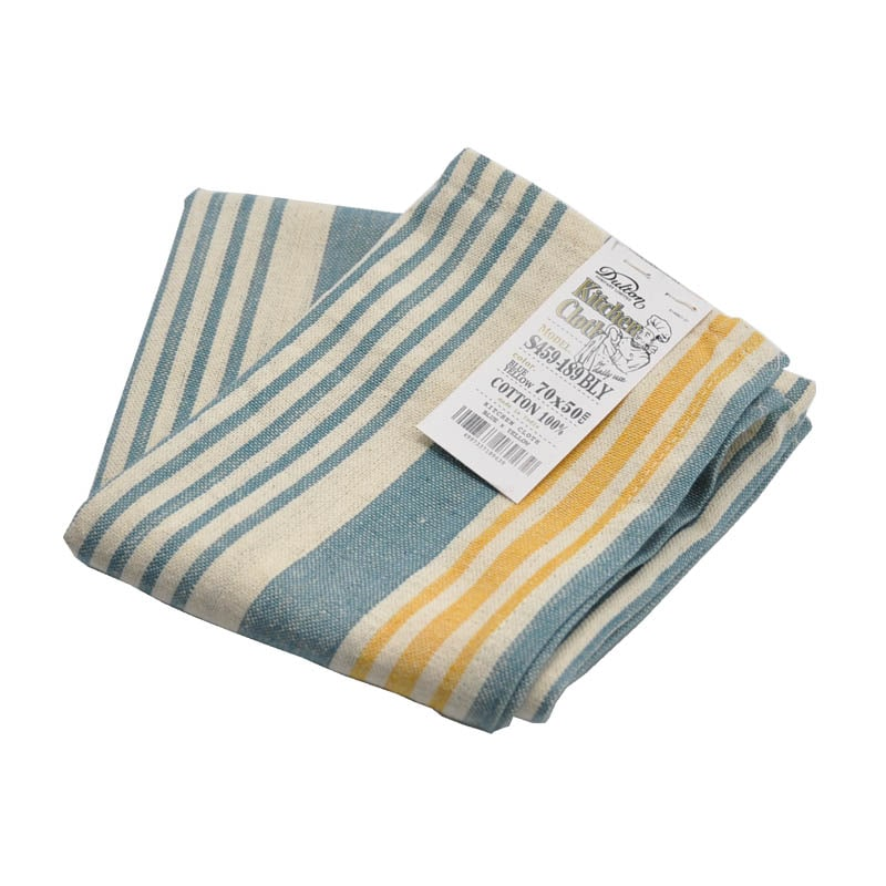 KITCHEN CLOTH BLUE/YELLOW