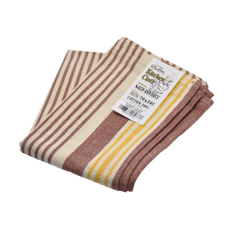 KITCHEN CLOTH BR/YL
