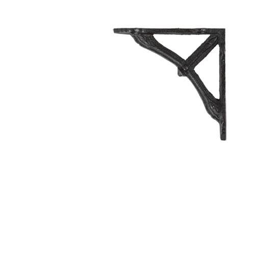 BOW BRACKET 10 ANTIQUE BLACK