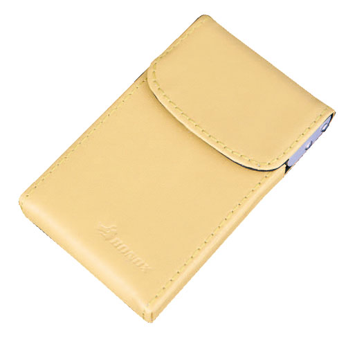 CARD CASE ''Slider'' YELLOW