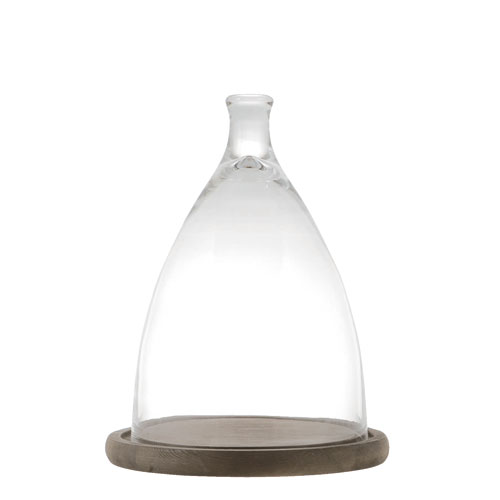 GLASS CLOCHE M