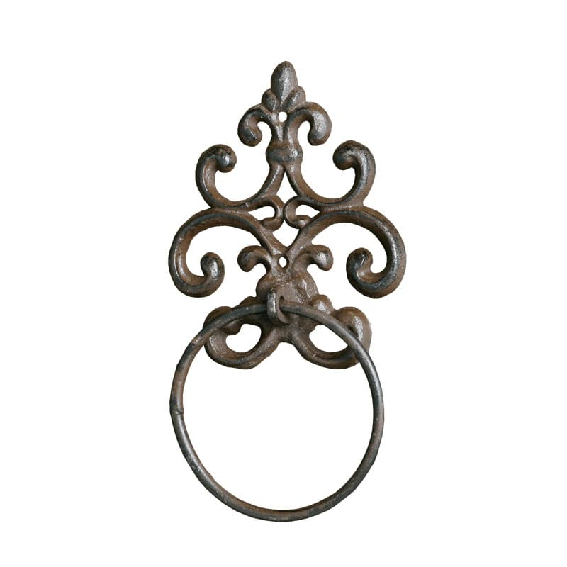 TOWEL RING RUSTED