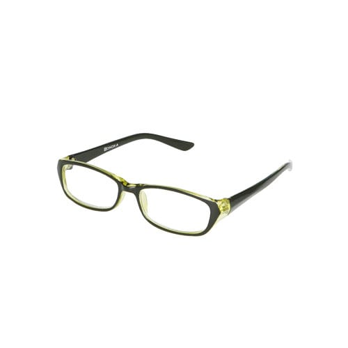 READING GLASSES  BK/GREEN