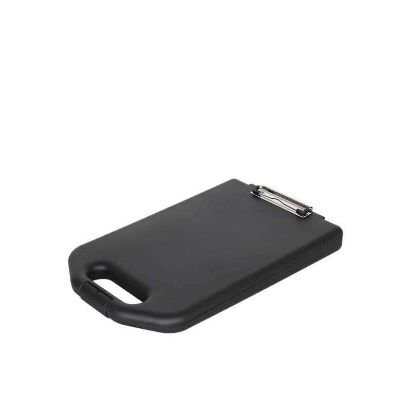 STORAGE CLIPBOARD BLACK