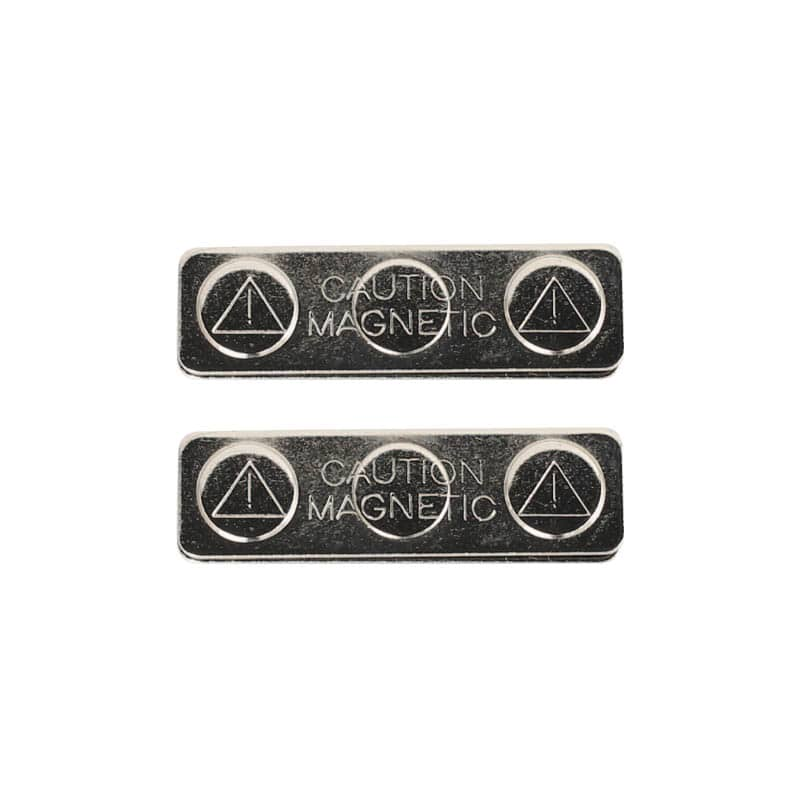 MAGNETIC FASTENER PLATE SET OF 2
