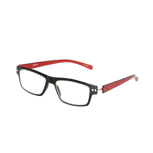 PC GLASSES BK/RD