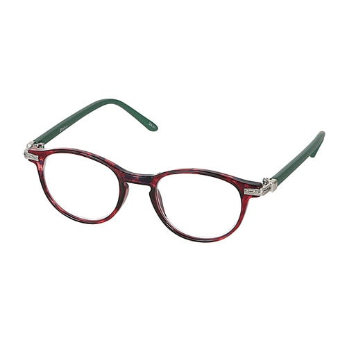 READING GLASSES PURPLE/GREEN 1.0